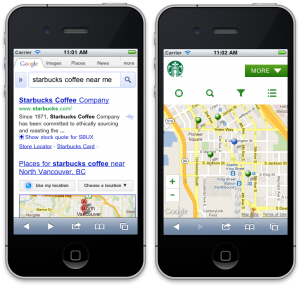 Starbucks-search