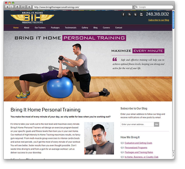 Bring It Home Personal Training