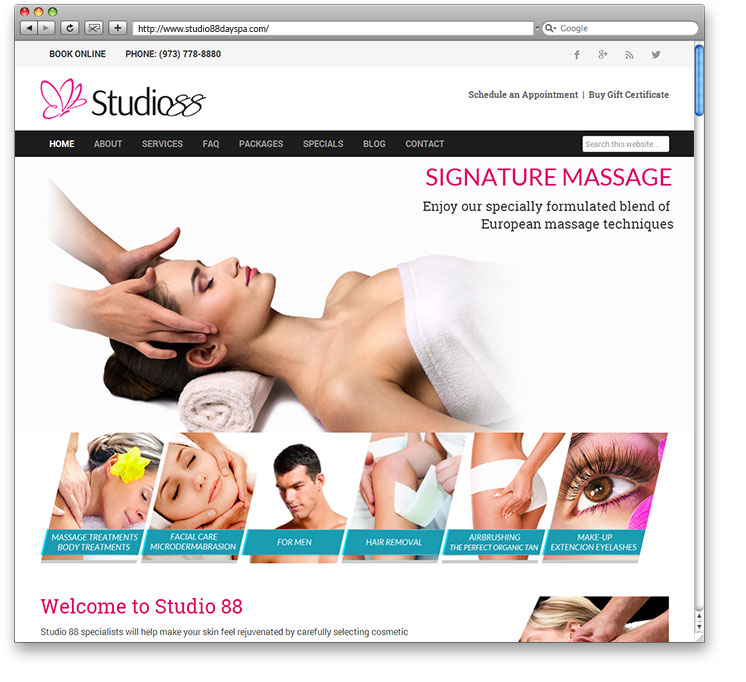Studio 88 European Day Spa