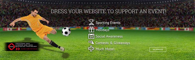 OMA Comp Dress Your Website