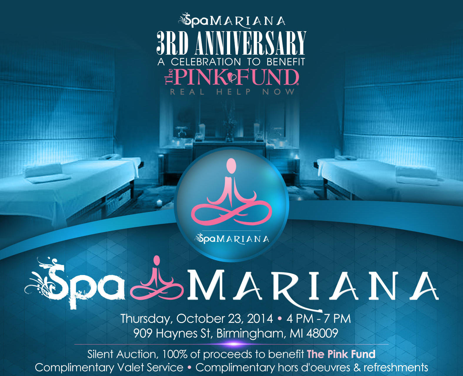 Spa Mariana Event