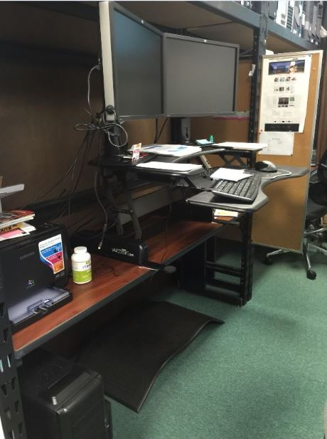 OMA Comp Standing Workstation