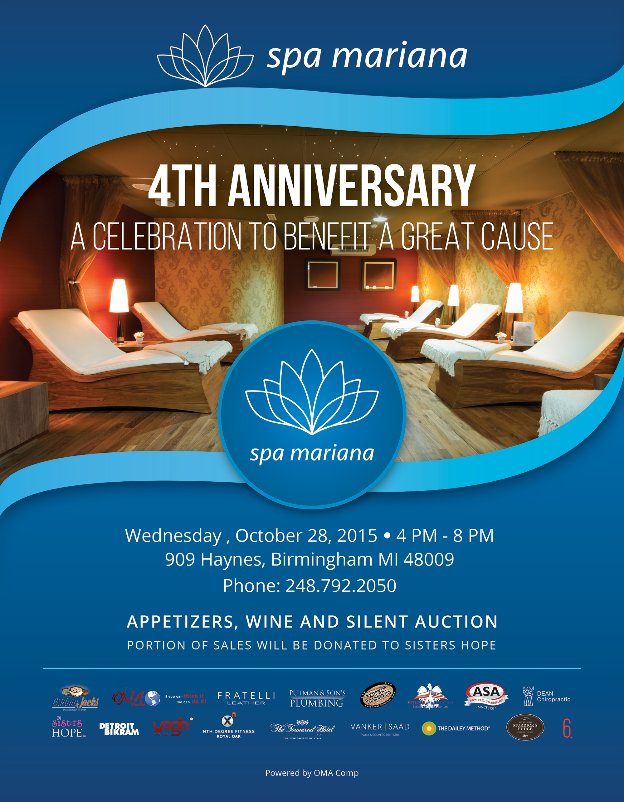 Spa Mariana 4th Anniversary 2015 Today