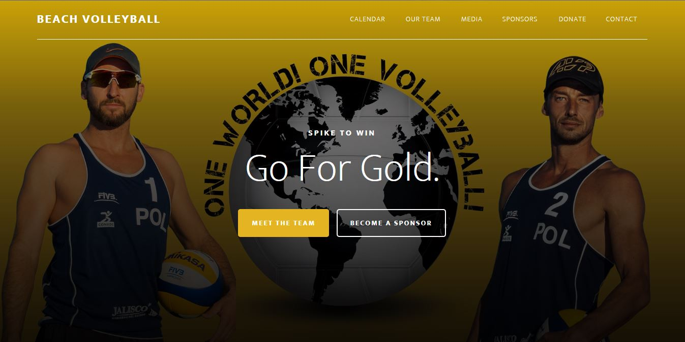 OMA Comp Beach Volleyball website