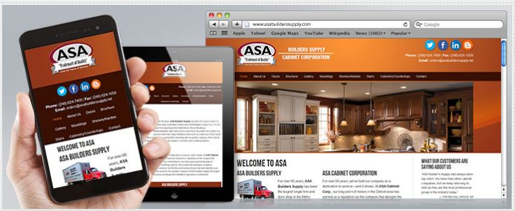 oma comp website design