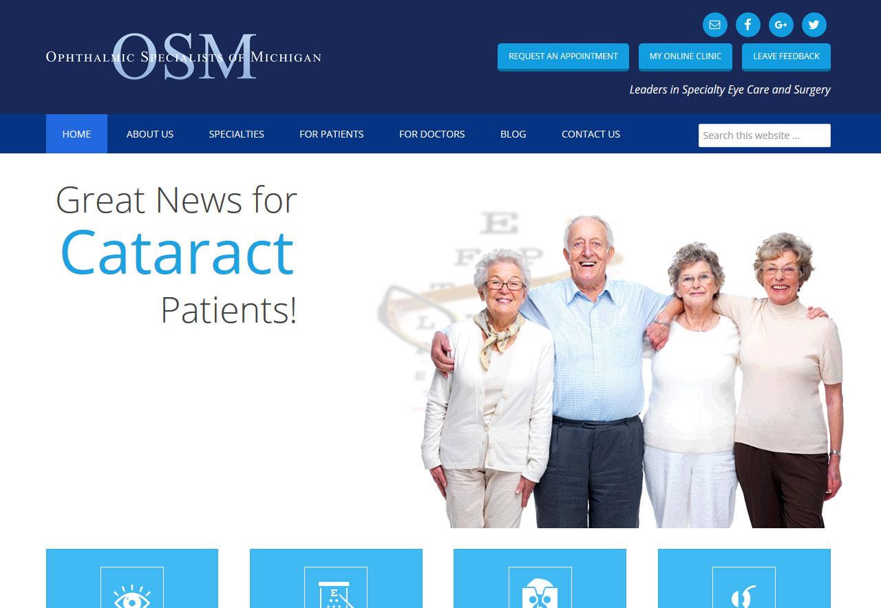 OMA Comp Designed a Website For OSM