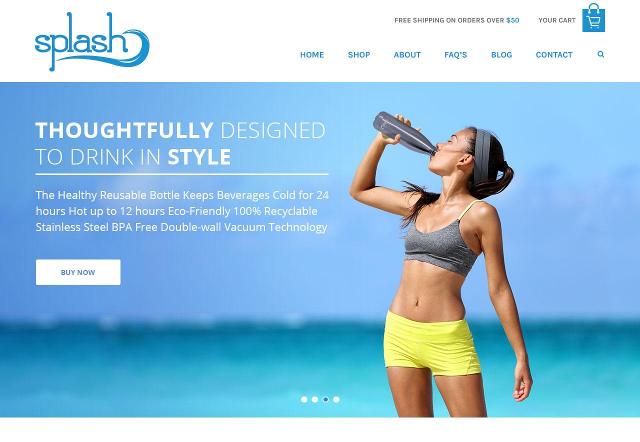 OMA Comp Designed a Website For Splash