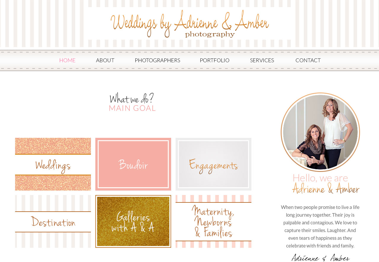 OMA Comp Designed a Website For Weddings By Adrienne