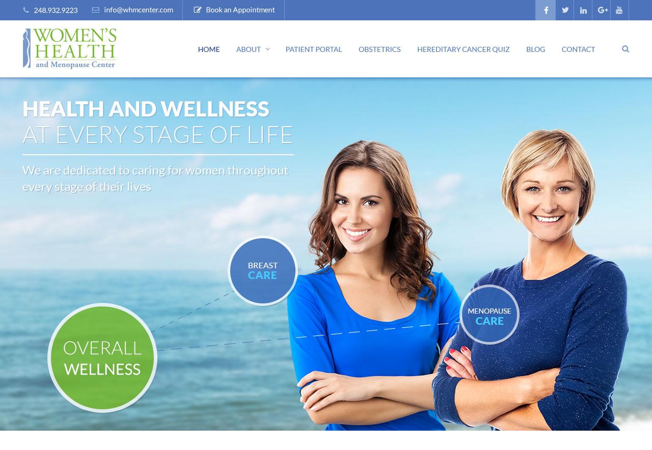 OMA Comp Designed a Website For Women's Health