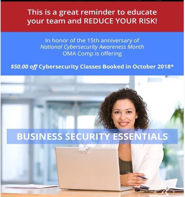 OMA Comp Cybersecurity Class