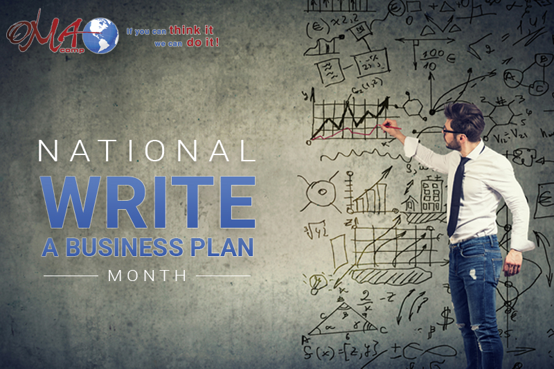 OMA Comp National Write a Business Plan Month 2020