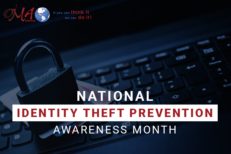 OMA Comp National Identity Theft Prevention Month December 2020